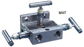 Manifold de 3 Vias – M4TVIS-4-SSC-T