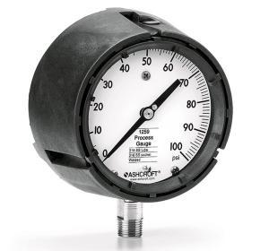 Manómetro (indicador de presión) 45-1259-SD-04L-XLL-760/2 mmHg/Kg/cm² (inHg/PSI)